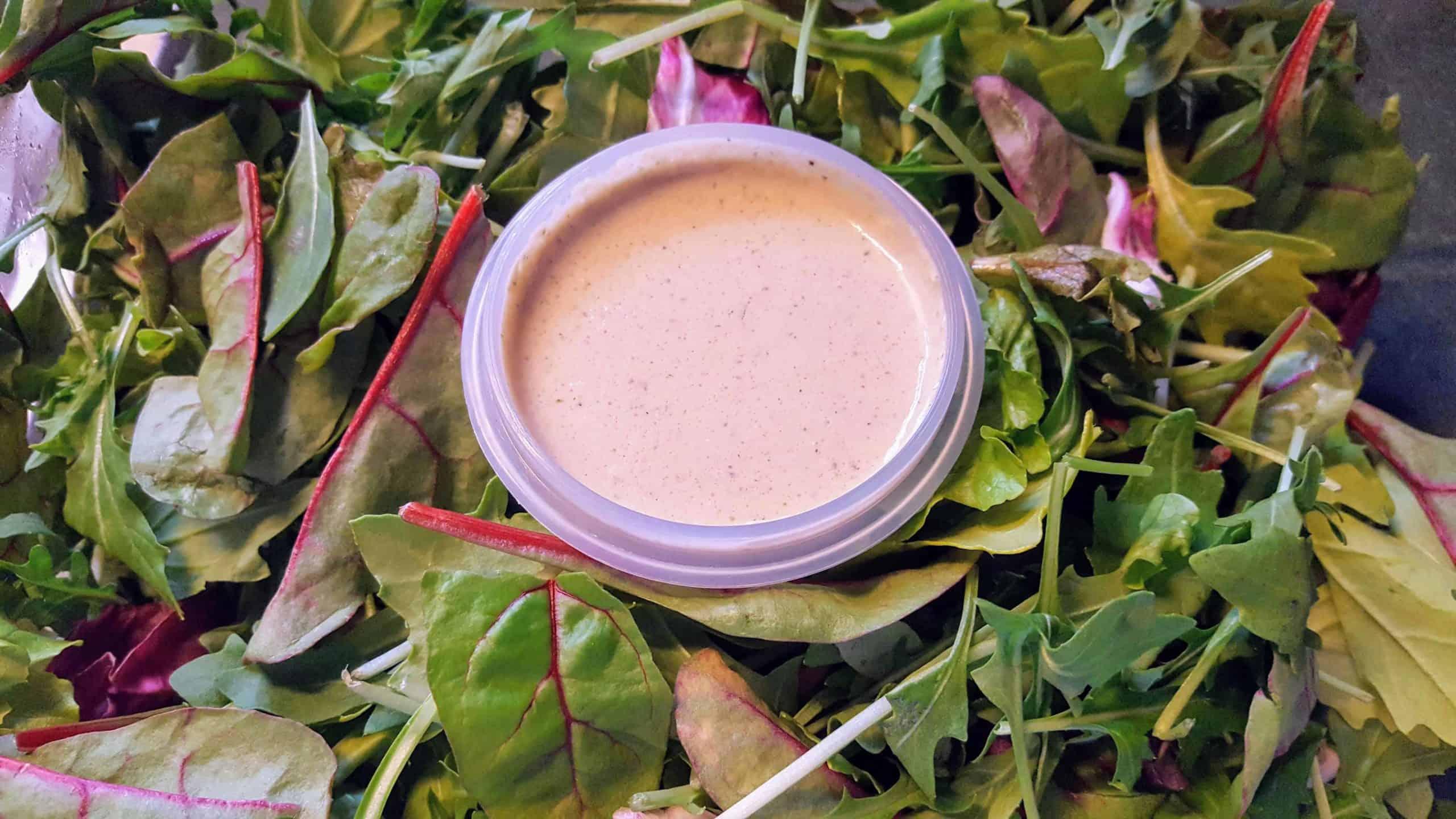 Clean Caesar Salad Dressing