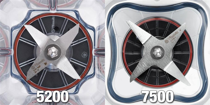 5200 and 7500 blades