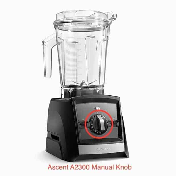 Ascent-a2500-manual-knob