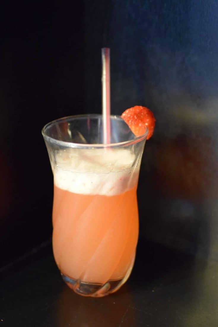 Strawberry Lemonade (using the Vitamix Aer)