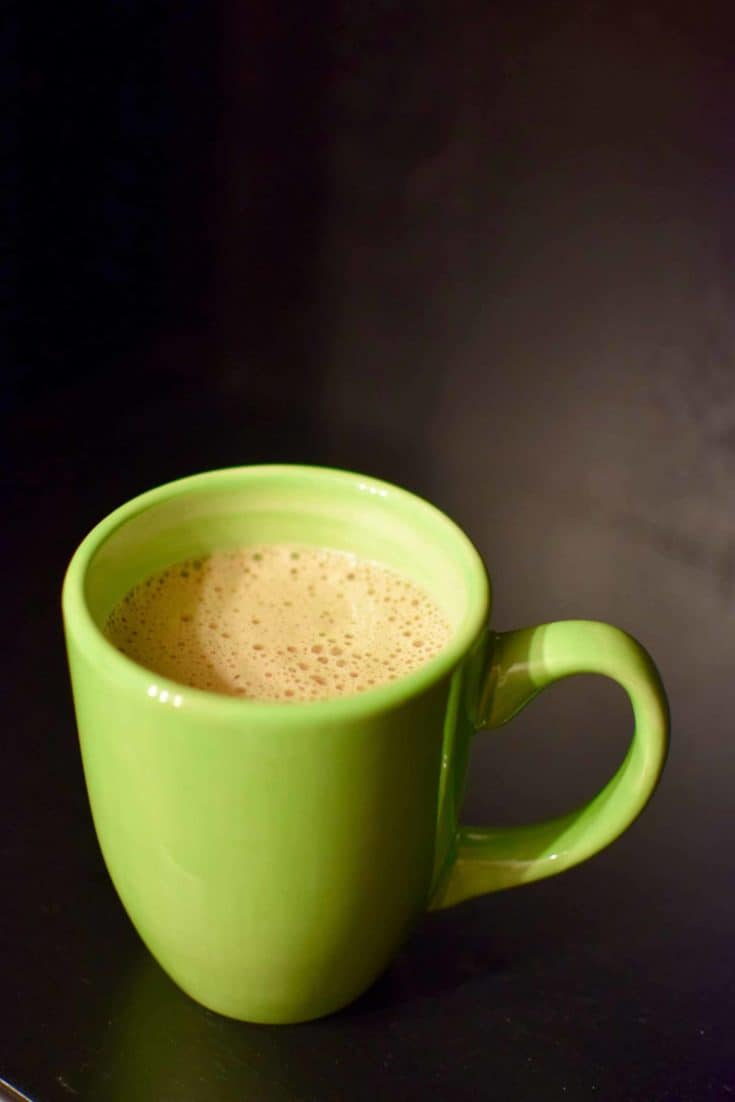Frothy Hot Chocolate (using the Vitamix Aer)