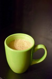 Peppermint Hot Chocolate Recipe (using the Vitamix Aer)