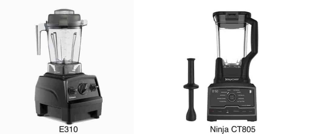 vitamix-e310-vs-ninja-ct805-side-by-side