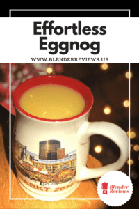 Effortless Eggnog