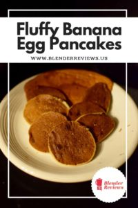 Fluffy Banana Egg Pancakes Recipe Using A Vitamix