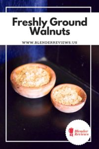 Freshly Ground Walnuts Made Quick With A Vitamix