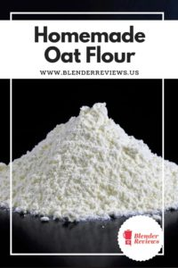 Homemade Oat Flour