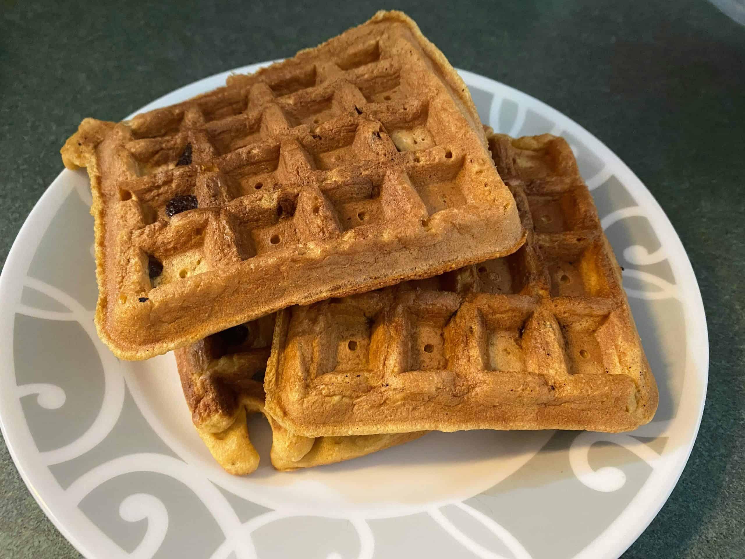 whole wheat buttermilk waffles
