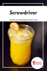 Muddled Screwdriver