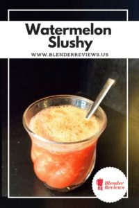 Watermelon Slushy