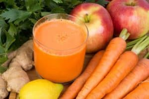 ginger carrot juice