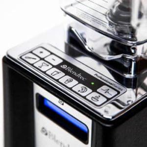 Vitamix vs Blendtec - Professional Series controls