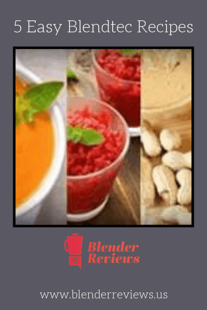 Easy Blendtec Recipes