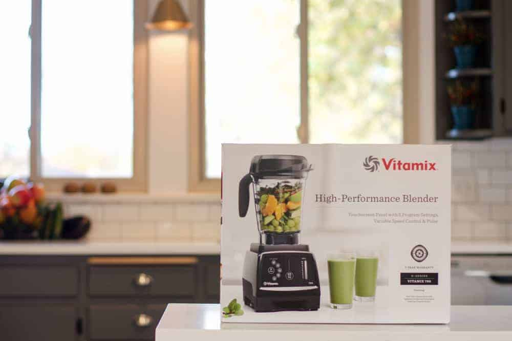 The Vitamix 780 box